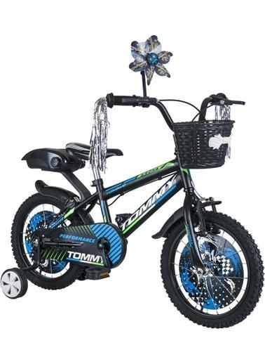 Tommy Bike 16 Jant Lüx Aksesuarlı Cocuk Bisikleti 5-8 Yaş Mavi